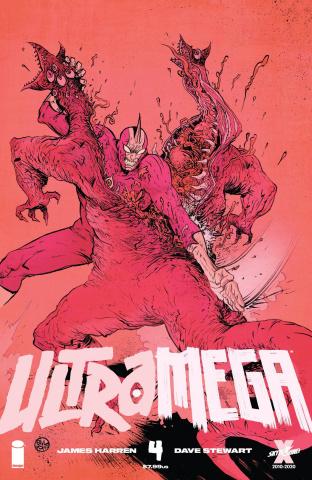 Ultramega #4 (Pope & Spicer Cover)