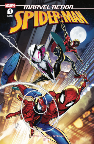 Marvel Action: Spider-Man #1 (Ossio Cover)