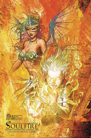 Soulfire #6 (WW LA 2006 Cover)