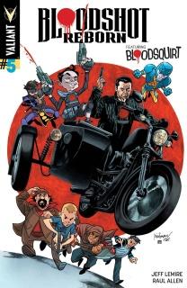 Bloodshot: Reborn #5 (Suayan Cover)