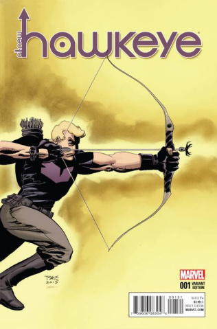 All-New Hawkeye #1 (Sale Cover)
