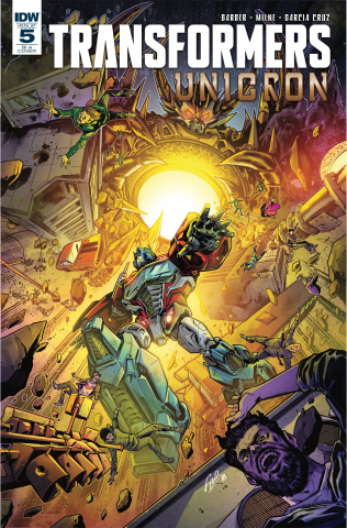 The Transformers: Unicron #5 (10 Copy Ossio Cover)