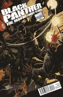 Black Panther: The Man Without Fear #513 (2nd Printing Bianchi Cover)