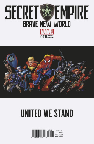 Secret Empire: Brave New World #1 (Teaser Cover)
