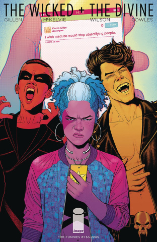 The Wicked + The Divine: Funnies #1 (McKelvie & Wilson Cover)