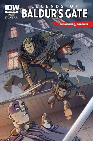 Dungeons & Dragons: Legends of Baldur's Gate #2 (Subscription Cover)