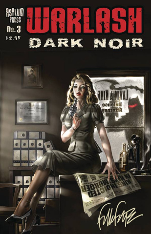 Warlash: Dark Noir #3 (Signed Edition)
