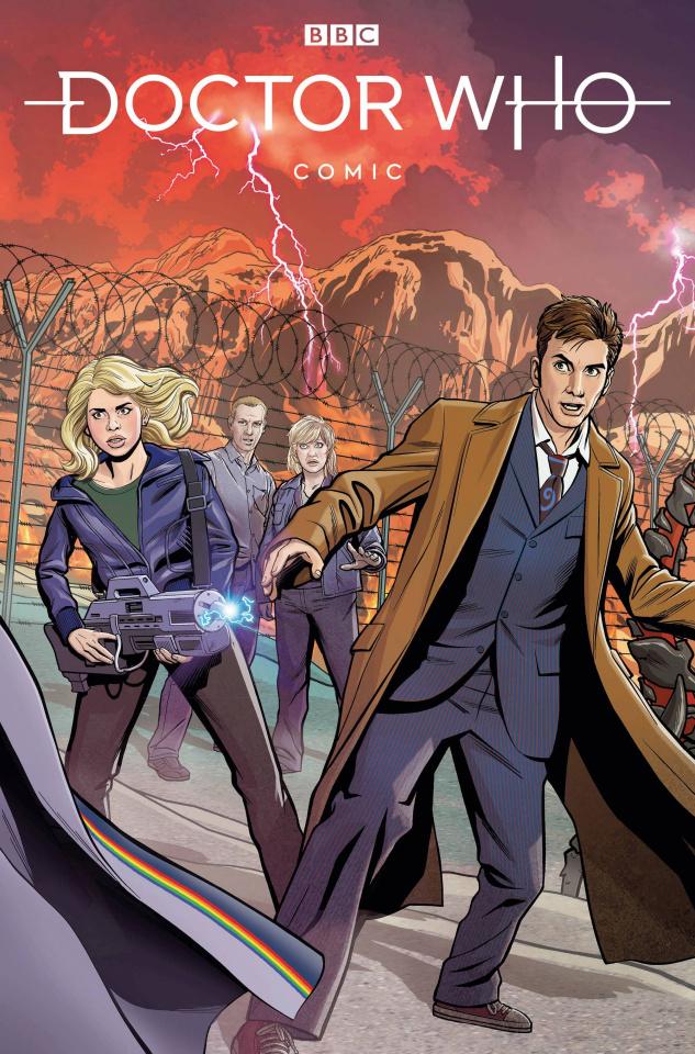 Doctor Who Comics #1 (Jones Cover)