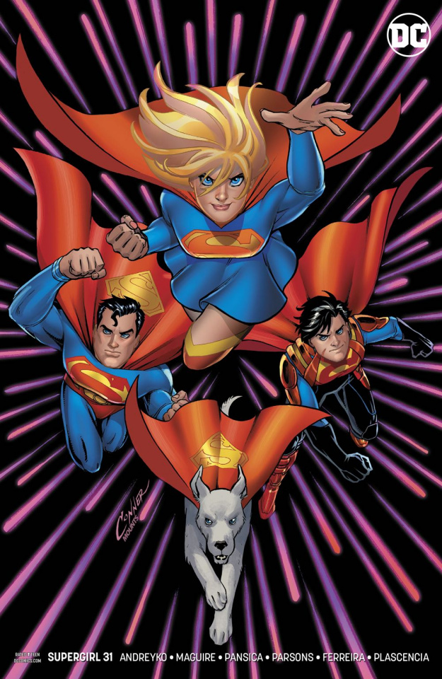 Supergirl #31 (Variant Cover)