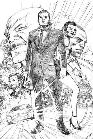 James Bond #1 (20 Copy Cheung Pencil Cover)