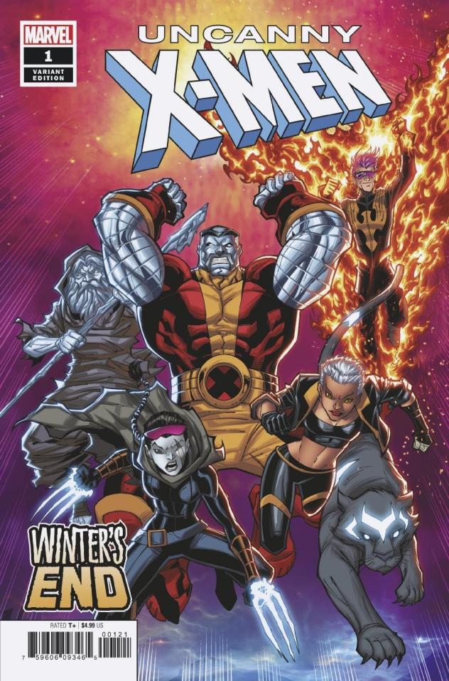 Uncanny X-Men: Winter's End #1 (Lim Cover)