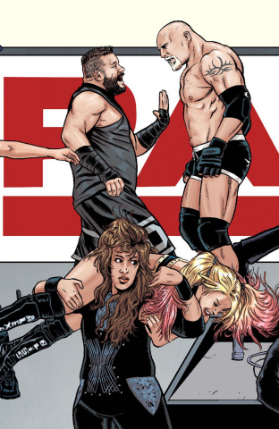 WWE #22 (Schoonover Raw Connecting Cover)