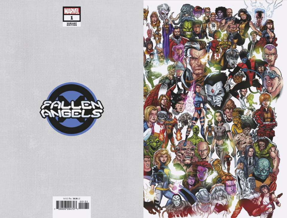 Fallen Angels #1 (Bagley Every Mutant Ever Cover)