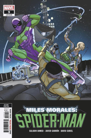 Miles Morales: Spider-Man #9 (Garron 2nd Printing)