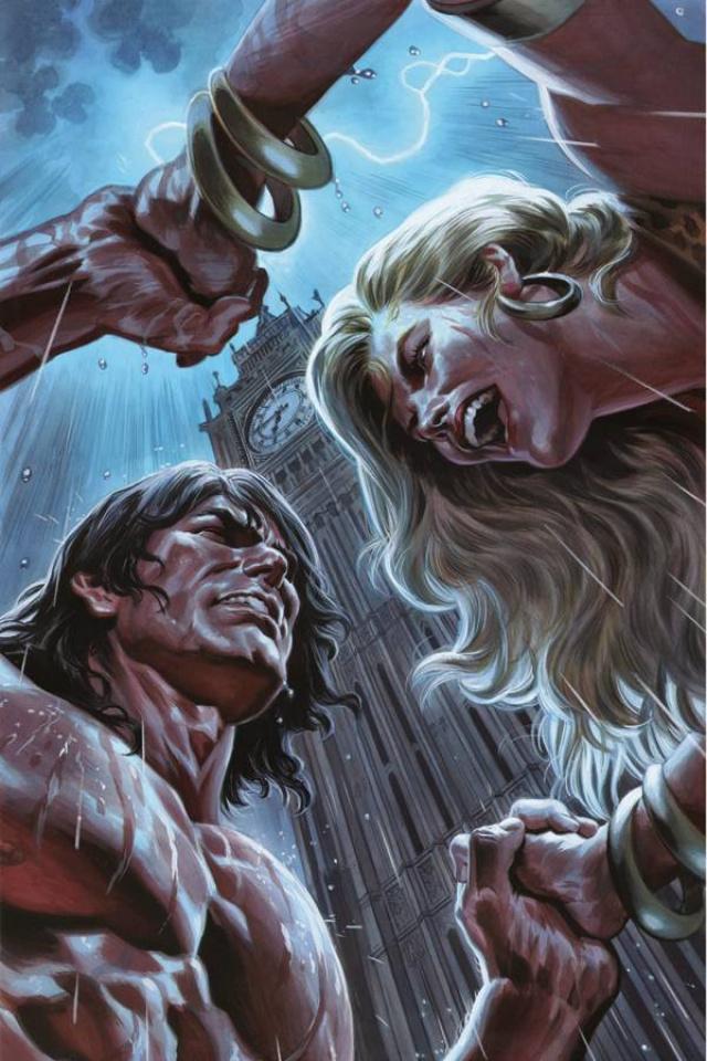 Lords of the Jungle #4 (Rare Massafera Virgin Art Cover)
