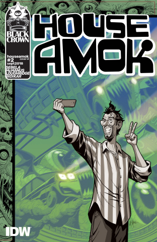 House Amok #2 (McManus Cover)