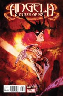 Angela: Queen of Hel #3 (Sienkiewicz Cover)
