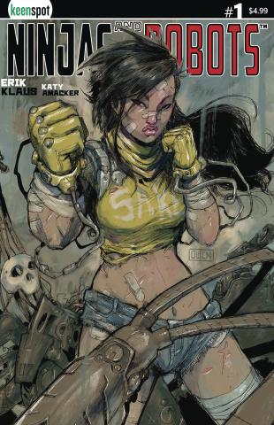 Ninjas and Robots #1 (Gieni Cover)