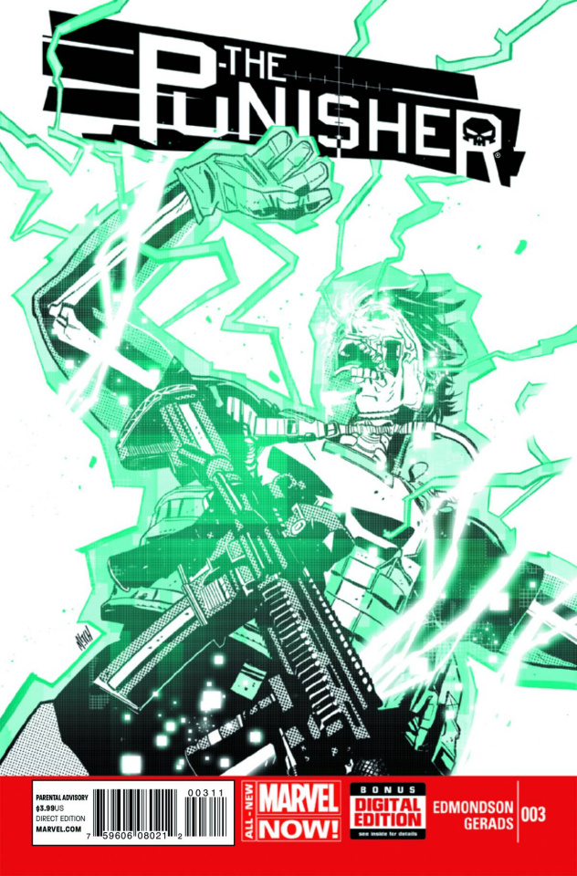 The Punisher #3 (2nd Printing)