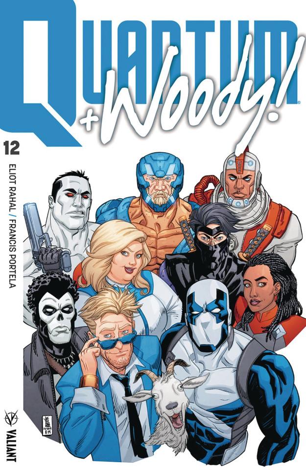Quantum & Woody #12 (Jothikumar Cover)