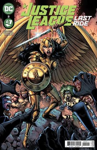 Justice League: Last Ride #2 (Darick Robertson Cover)
