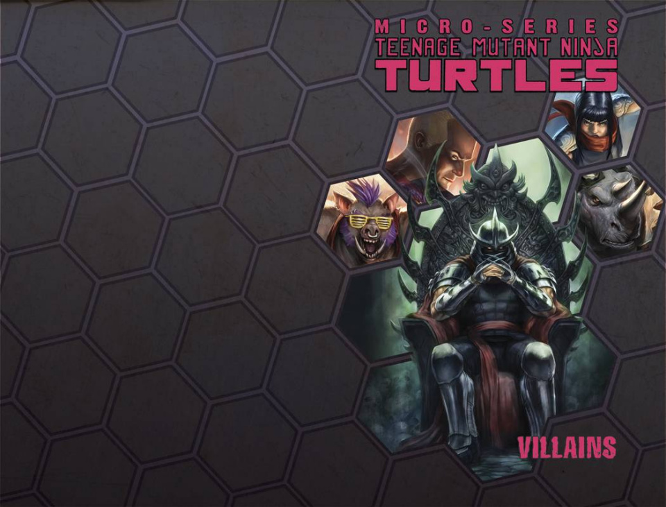 Teenage Mutant Ninja Turtles: Villain Micro-Series Vol. 2