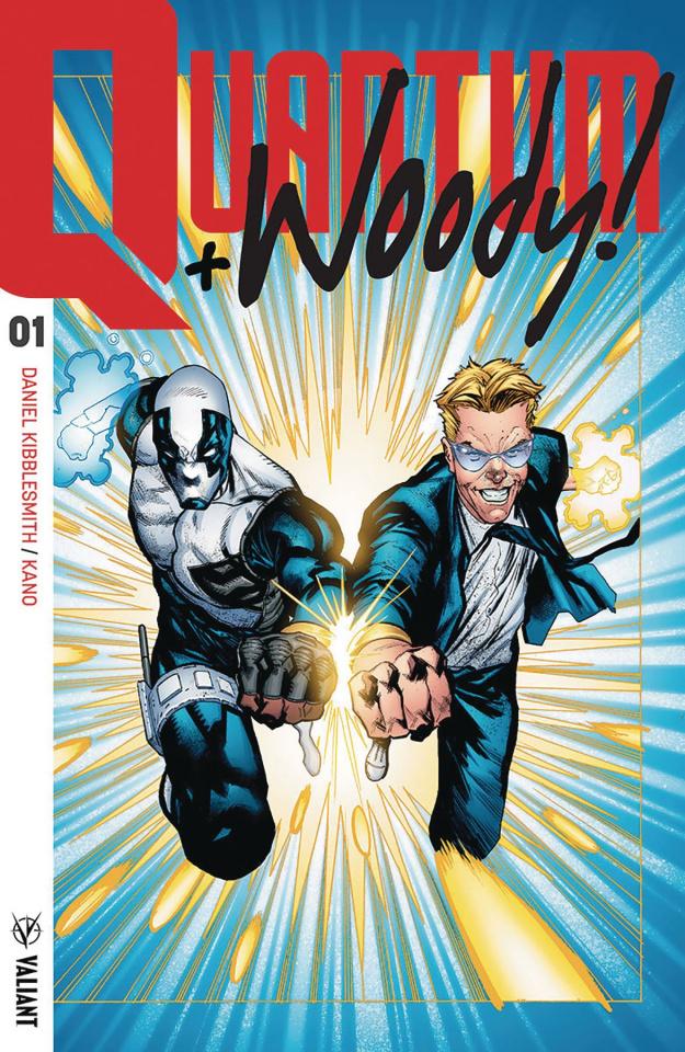 Quantum & Woody #1 (Ultra Foil Shaw Cover)