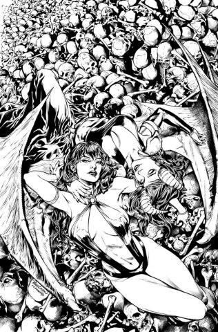 Vampirella vs. Purgatori #5 (15 Copy Pagulayan Cover)