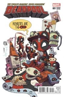 Deadpool #1 (Cook Cover)