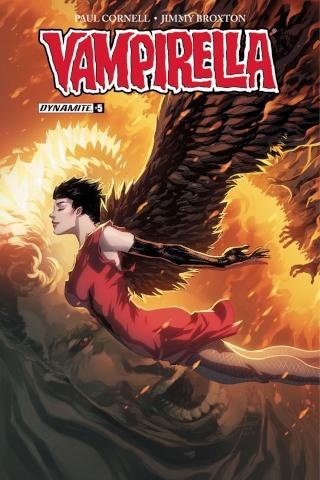 Vampirella #5 (Tan Cover)