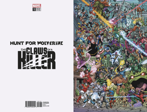 Hunt for Wolverine: The Claws of a Killer #1 (Where's Wolverine Cover)
