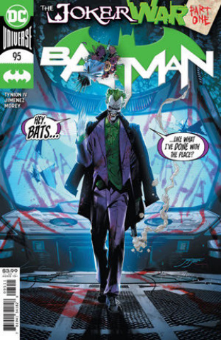 Batman #95 (Jorge Jimenez Cover)