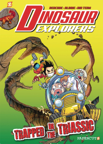 Dinosaur Explorers Vol. 4: Trapped in the Triassic