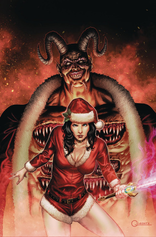 Grimm Fairy Tales 2019 Holiday Special (Vigonte Cover)