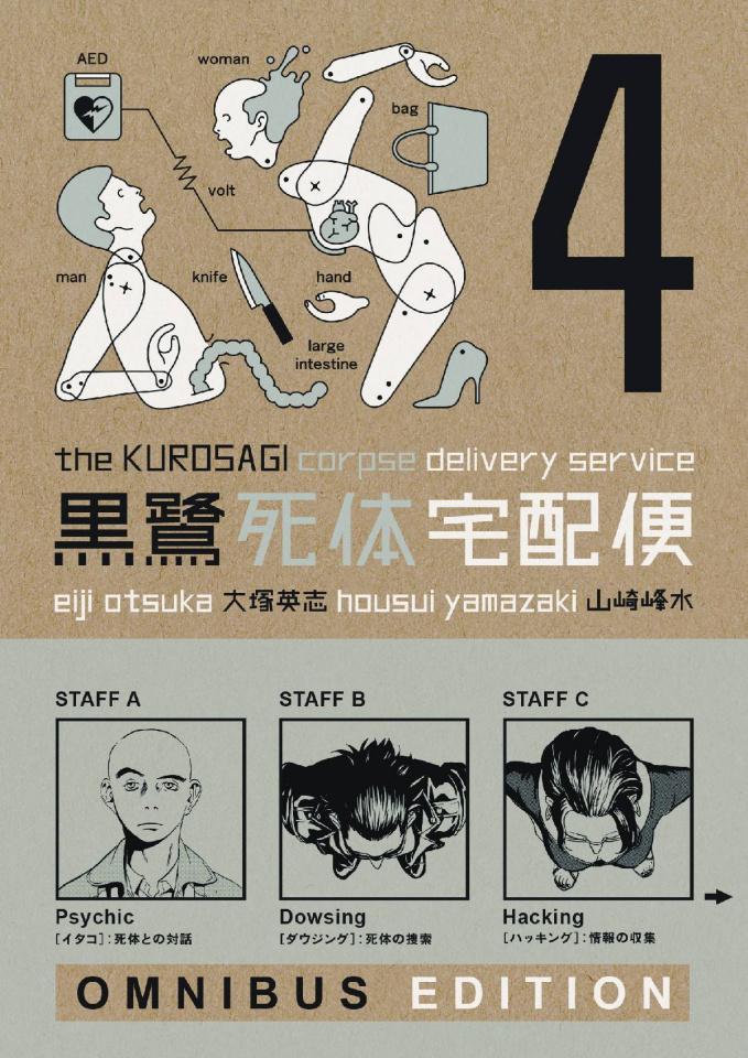 The Kurosagi Corpse Delivery Service Book 4 (Omnibus Edition)