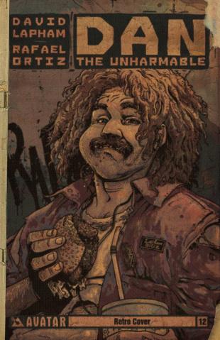 Dan the Unharmable #12 (Retro Cover)