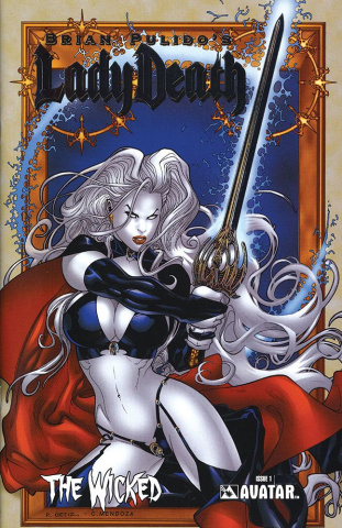 Lady Death: The Wicked #1 (Platinum Foil Cover)