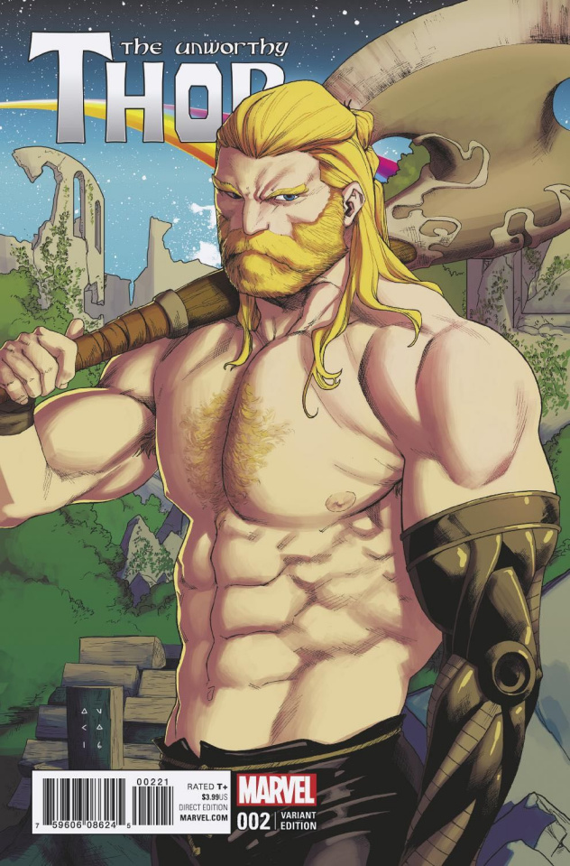 The Unworthy Thor #2 (Anka Cover)