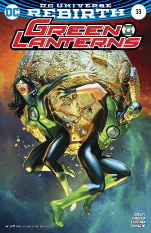Green Lanterns #33 (Variant Cover)