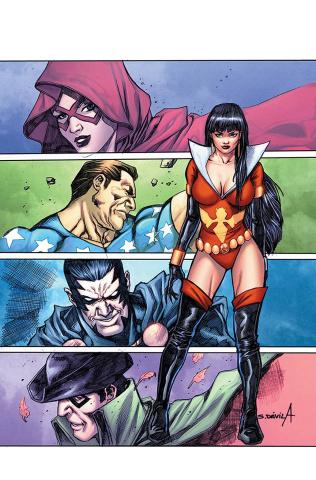 Vampirella: The Dark Powers #4 (25 Copy Davila Virgin Cover)
