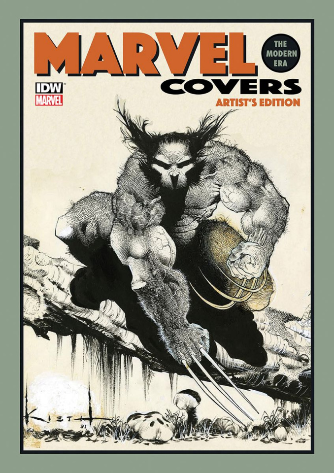 Marvel Covers: The Modern Era Artist's Edition (Kieth Cover)