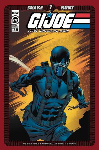 G.I. Joe: A Real American Hero #272 (Diaz Cover)