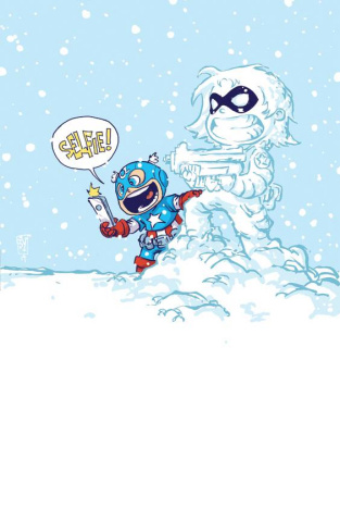 Bucky Barnes: The Winter Soldier #1 (Young Cover)
