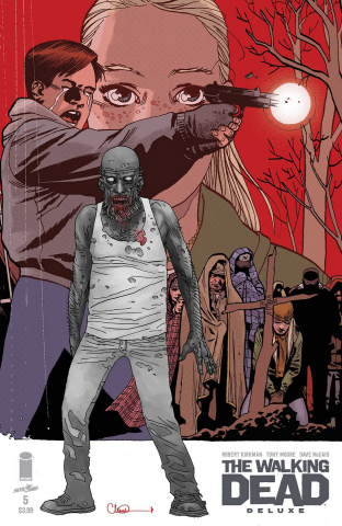 The Walking Dead Deluxe #5 (Adlard & McCaig Cover)