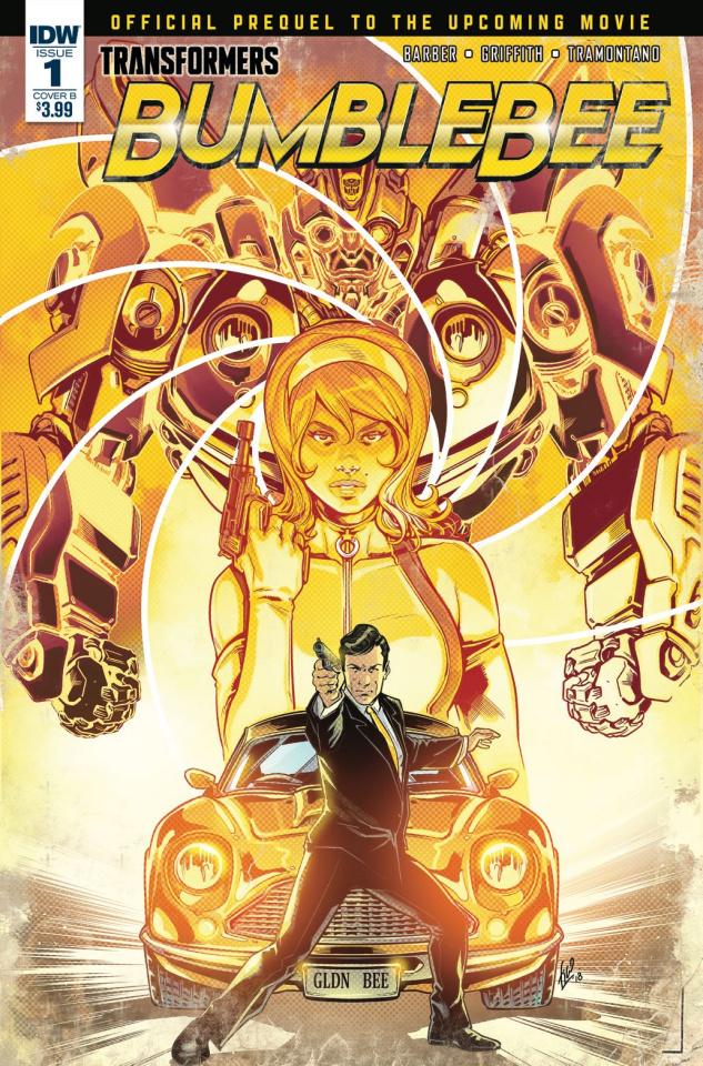 Transformers: Bumblebee Movie Prequel #1 (Ossio Cover)
