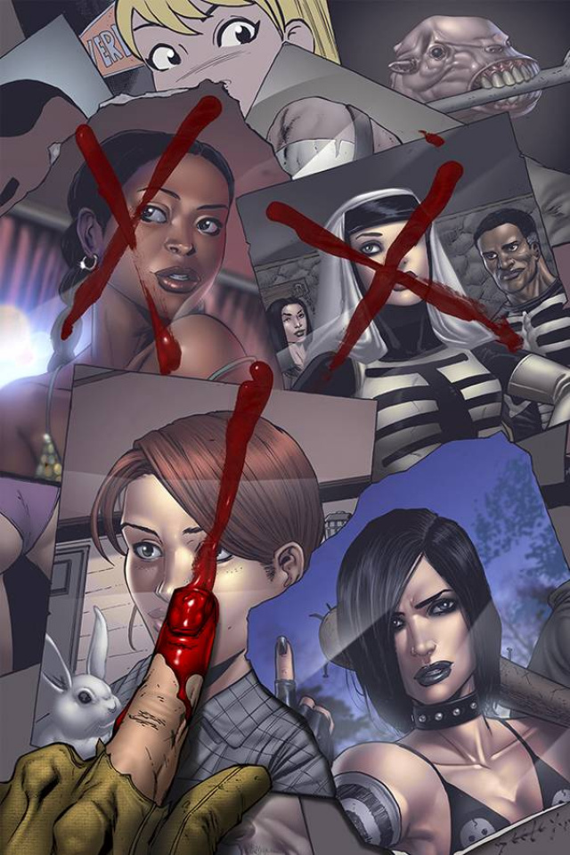 Hack/Slash #21 (Seeley & Marco Cover)