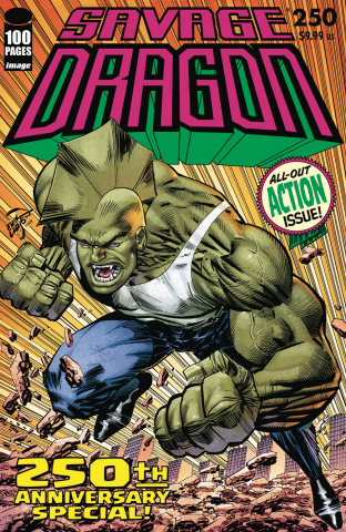 Savage Dragon #250 (Larsen Cover)