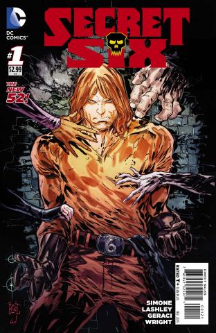 The Secret Six #1 (Variant Cover)