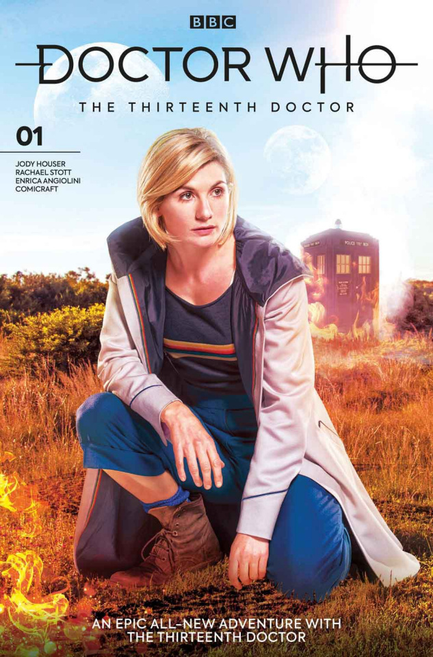 Doctor Who: The Thirteenth Doctor #1 (Photo Cover)