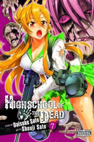 High School of the Dead Vol. 7